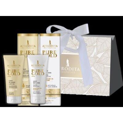 PURE GOLD 24 Ka LUXURY testápoló ajándékcsomag