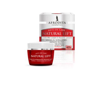 NATURAL LIFT Ránctalanító krém normál, zsíros bőrtípusra