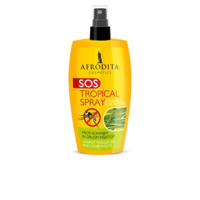 SOS Tropical Spray szúnyog és rovarcsípés megelőzésére