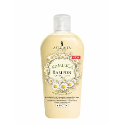 KAMILLA és BIOTIN Sampon - a haj hidratálására és nyugtatására