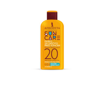 SUN CARE Naptej F20 - Vízálló