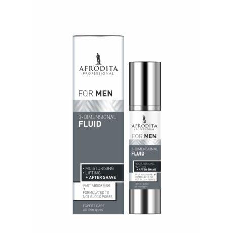Afrodita Men Professional 3 - dimenziós Fluid