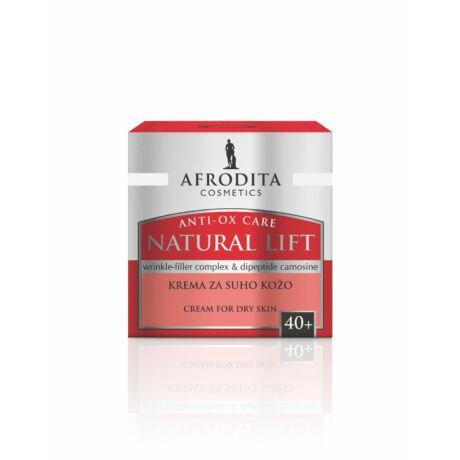 Afrodita NATURAL LIFT Ránctalanító krém száraz bőrtípusra