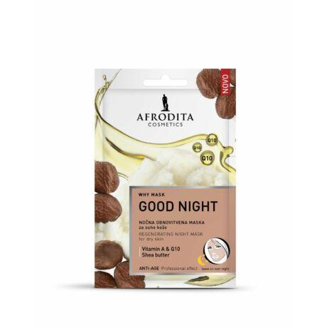 Afrodita WHY MASK Good Night maszk