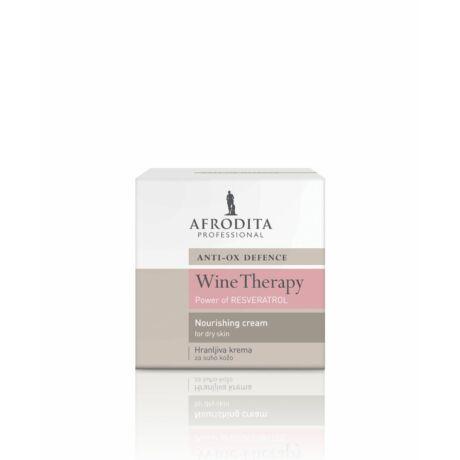 WINE THERAPY– Borterápia Tápláló krém száraz bőrre