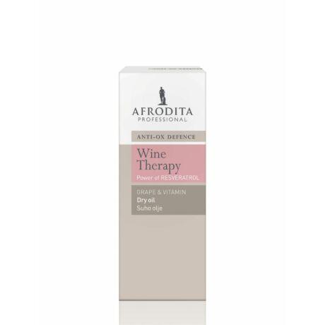 Afrodita WINE THERAPY– Borterápia Szőlő – vitamin száraz olaj