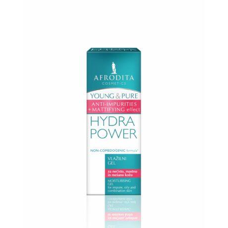 Afrodita YOUNG & PURE HYDRA POWER Hidratáló gél